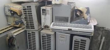 Reciclagem ar condicionado